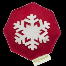 Profumatore fiocco di neve rosso