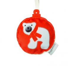 Profumatore palla di Natale Orso