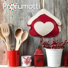 Profumatore casa rossa con cuore