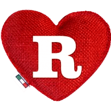 Red Heart diffuser letter R