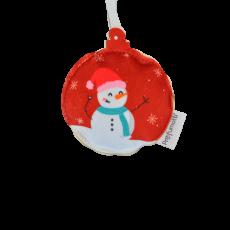 Profumatore palla di Natale Pupazzo di Neve