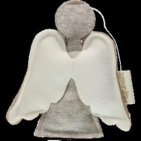 Profumatore angelo grigio con lana 100%