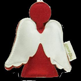 Profumatore angelo rosso con lana 100%