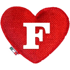 Red Heart diffuser letter F
