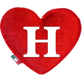 Red Heart diffuser letter H