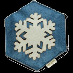 Profumatore fiocco di neve azzurro