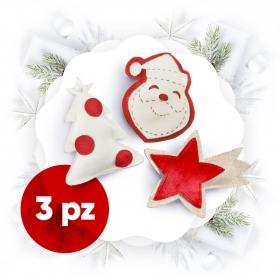 Pacchetto natalizio bianco