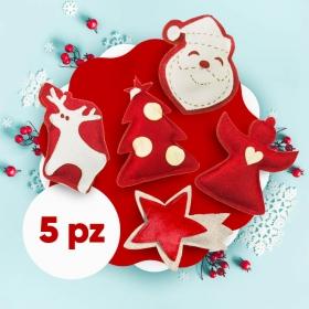 Pacchetto natalizio rosso