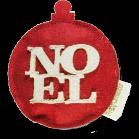 Profumatore palla di Natale Noel rosso