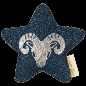 Profumatore stella con segno zodiacale • Ariete