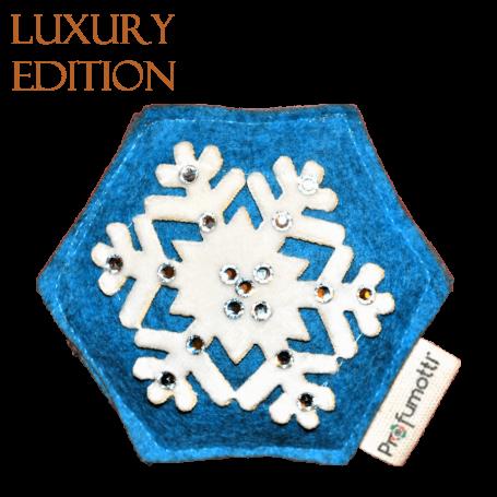 Profumatore fiocco di neve blu con Cristalli