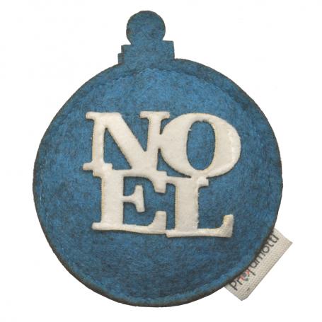 Profumatore palla di Natale Noel azzurro