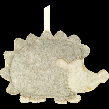 Profumatore a forma di riccio fior di cotone dimensione maxi