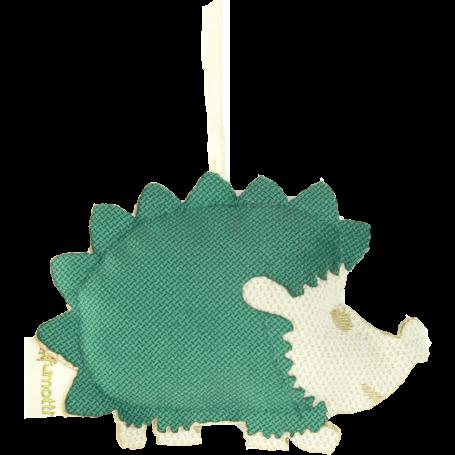 Profumatore a forma di riccio alla menta e camomilla