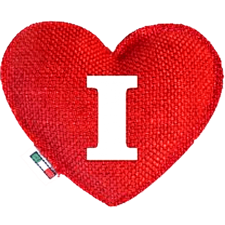 Red Heart diffuser letter I