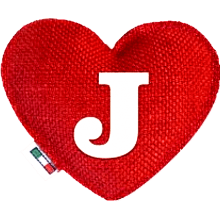 Red Heart diffuser letter J
