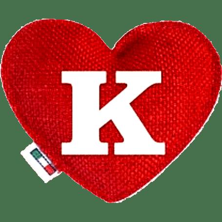 Red Heart diffuser letter K
