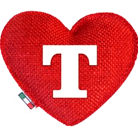 Red Heart diffuser letter T