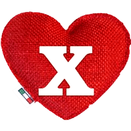 Red Heart diffuser letter X
