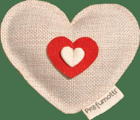 Profumatore cuore naturale