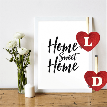 Red Heart diffuser letter L