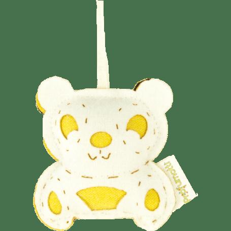 Profumatore panda cedro & lime in lana 100%