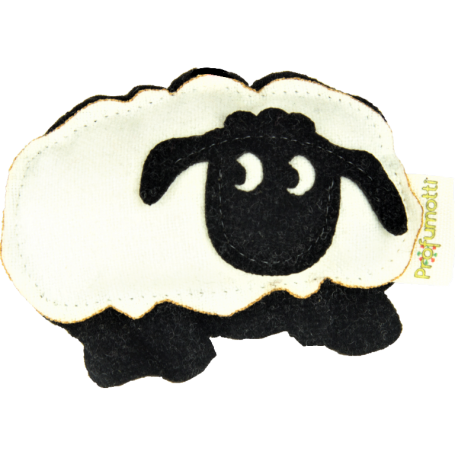 Sheep diffuser Lavender cereals 100% wool