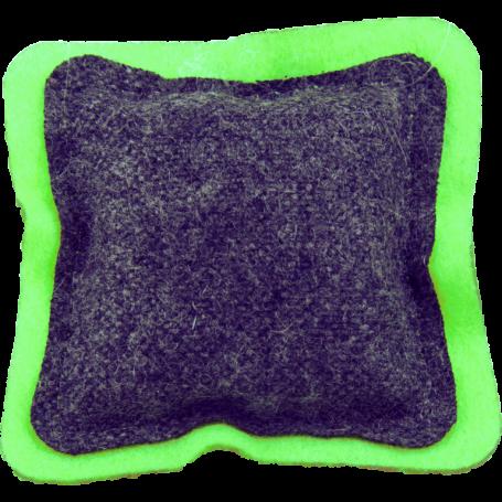 Profumatore quadretto cedro & lime in lana 100%