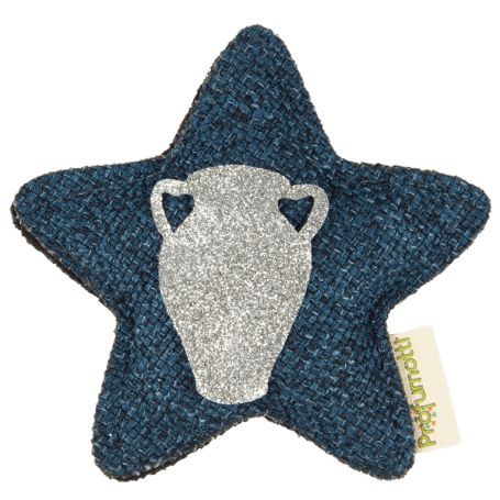 Profumatore stella con segno zodiacale • Acquario
