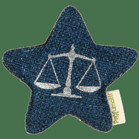 Profumatore stella con segno zodiacale • Bilancia
